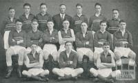 St Joseph's Boys College, Senior Football Team, North Melbourne, 1930