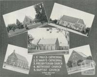 Churches at Sale, 1938