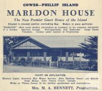 Marldon House, Cowes, 1949