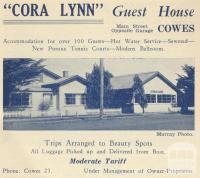 Cora Lynn Guest House, Cowes, 1949