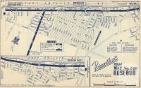 Map Rosebud, 1949