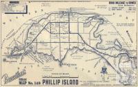 Map Phillip Island, 1949