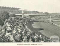 Flemington Racecourse, 1900