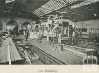Railway car building, Newport