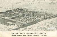Lincoln Mill, Coburg, 1951