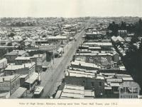 High Street, Malvern, 1912