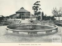 Wilmot Fountain, Central Park, 1929