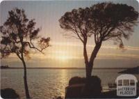 Sunrise over Captains Point as seen from the foreshore park, Mallacoota