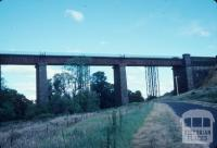 Rail bridge, Taradale, 1979