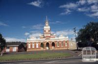 Buninyong Town Hall, 1985