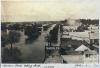Horsham flood looking south, 1909