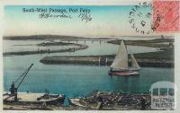 South-West Passage, Port Fairy, 1911