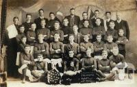 Gymnasium Football Club, Violet Town, premiers Victorian Association, 1908