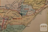Rosedale shire map, 1924
