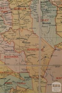 Mansfield shire map, 1924