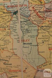 Oxley shire map, 1924