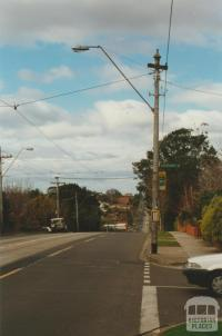Hawthorn Tramway Trust Pole, Riverdale Road, 2000