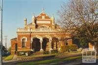 Former Court House, Moonee Ponds, 2000