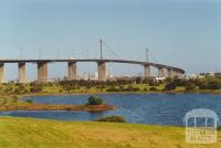 Newport Power Station and West Gate Bridge from Westgate Park, 2000