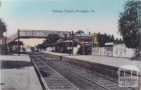 Railway Station, Armadale, 1907