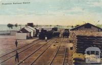 Hopetoun Railway Station, 1907
