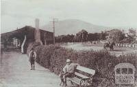 Macedon Railway Station, 1910
