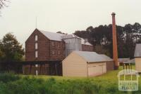 Smeaton Mill showing water flume, 2000