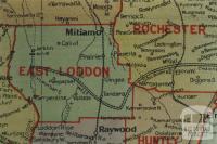 East Loddon shire map, 1924