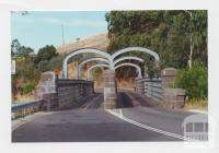 Iron bridge, Heathcote-Kyneton Road, Campaspe River, 2001