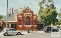 Numurkah former court house, 2002