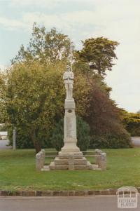 Lancefield War Memorial, 2002