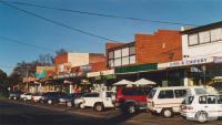 Strathmore shops, Napier Street, 2002