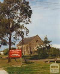 St Pauls Church of England, Westmeadows, 2002