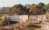 Lower Plenty bridge, Old Plenty Road, 2002