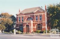 Old Warragul shire offices, near railway bridge and station, 2002
