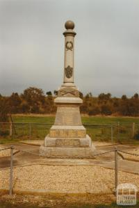 Wickliffe War Memorial, 2002