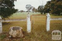 Site of Mooralla church, 2002