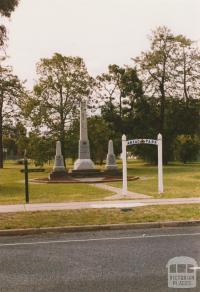 Briagolong War Memorial, 2003