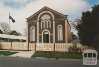 Talbot museum (former Methodist Church), 2004