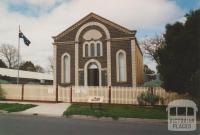 Talbot museum (former Methodist Church), 2004