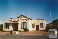 Memorial hall and free library, Beulah, 2005