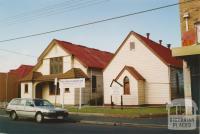 Uniting Church (former Methodist), Barkly Street, Footscray West, 2005