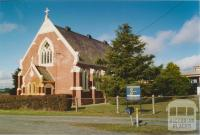 Catholic Church, Springbank (residence and primary school to right), 2005