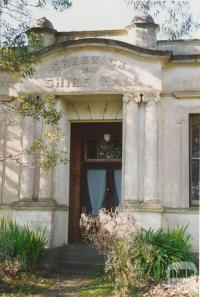 Creswick Shire hall, Kingston, 2005