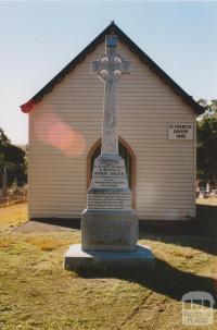John Egan memorial, Eganstown, 2005
