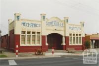 Somerville Mechanics' Institute, 2005