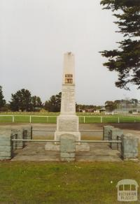 Memorial, Tyabb, 2005
