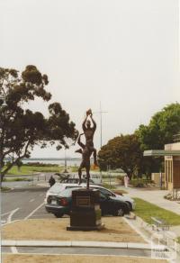 John Coleman statue, High Street, Hastings, 2005