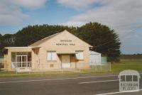 Wangoom memorial hall, 2006
