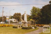 Croydon war memorial, Wicklow Avenue, 2007